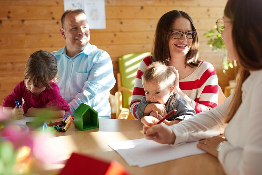 Kinder und Jugendliche bei der Lebenshilfe Schwabach-Roth e.V.