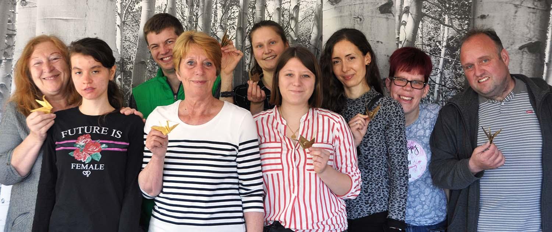 OrtungIX - KünstlerInnen der Lebenshilfe Schwabach-Roth haben mitgemacht.