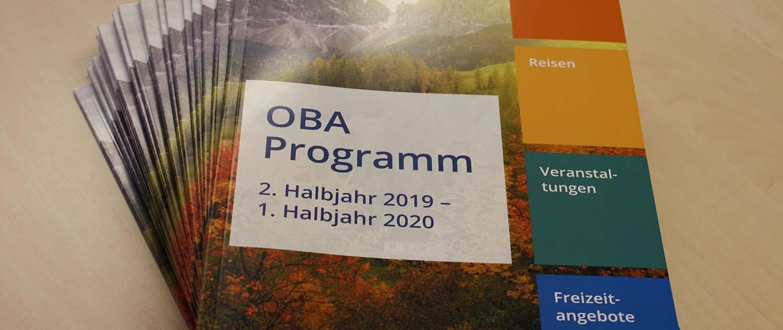 Neue Inhalte, neues Aussehen, das neue OBA Programm